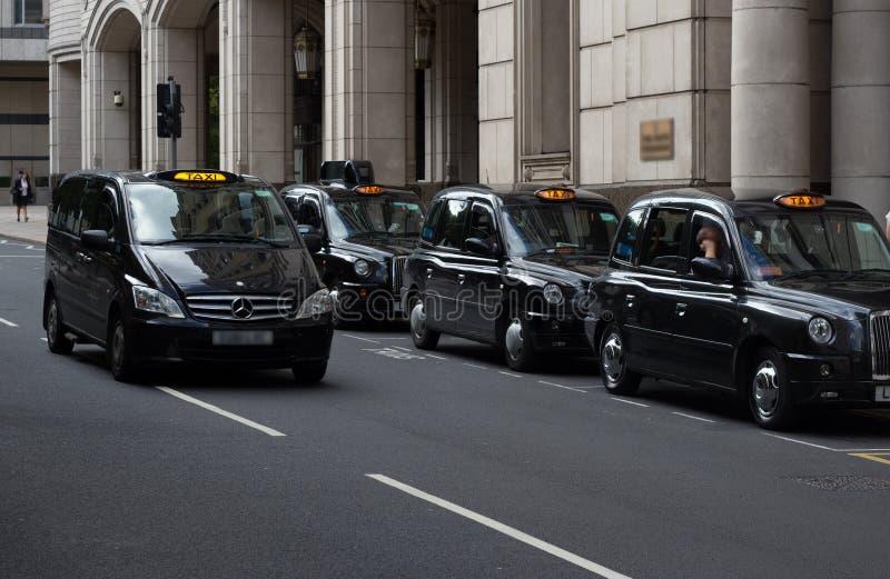 Такси Лондона стоковые фото