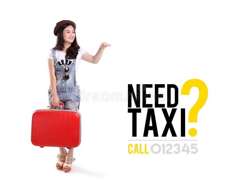 Такси потребности? рекламировать дизайн стоковые изображения rf