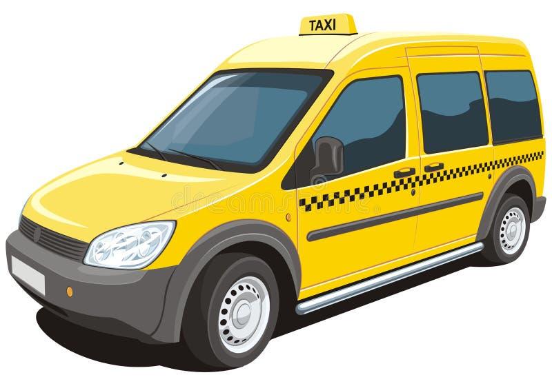 Такси иллюстрация штока