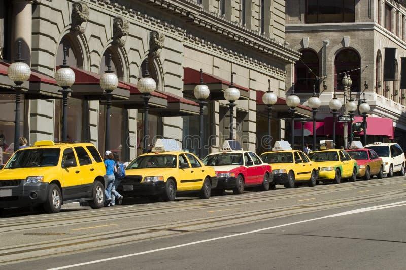 таксомоторы стоковые фото
