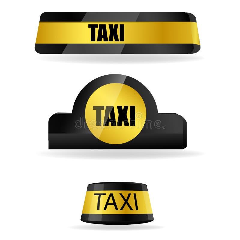 таксомотор бирок иллюстрация штока