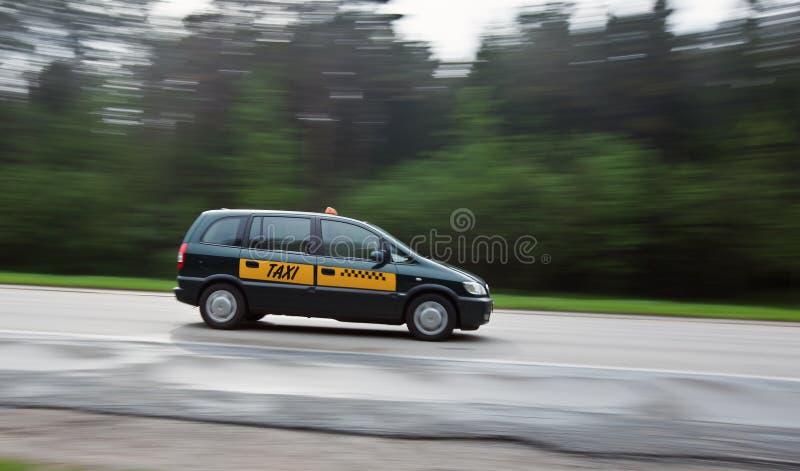 таксомотор кабины стоковая фотография