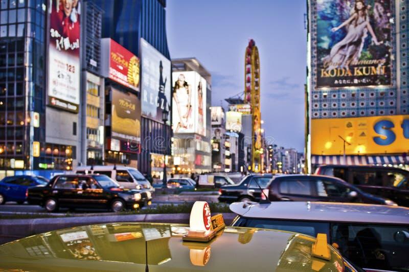Таксомотор Осака стоковая фотография rf