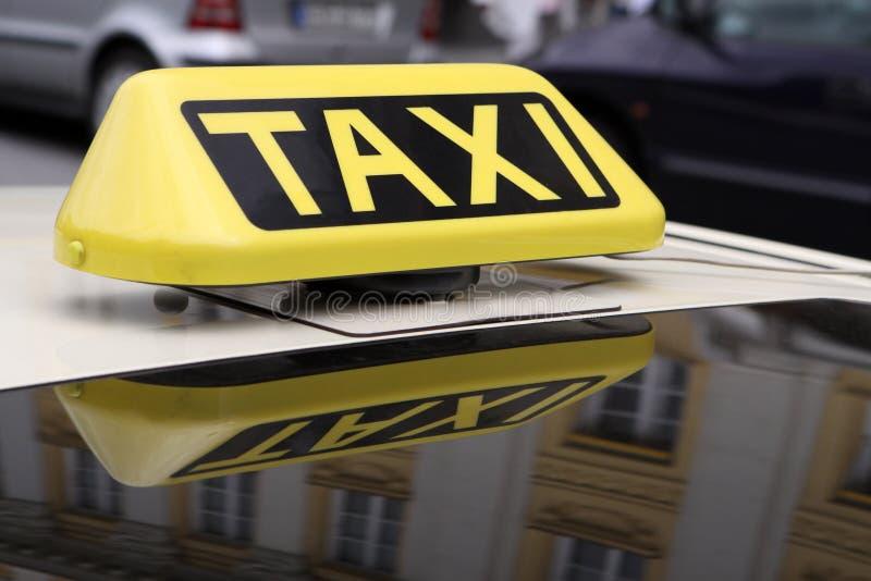 таксомотор стоковое изображение rf