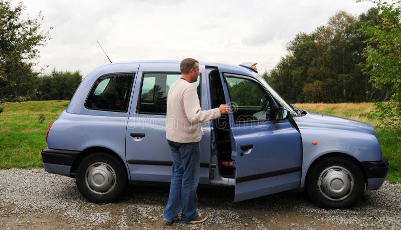 таксомотор стоковое фото rf