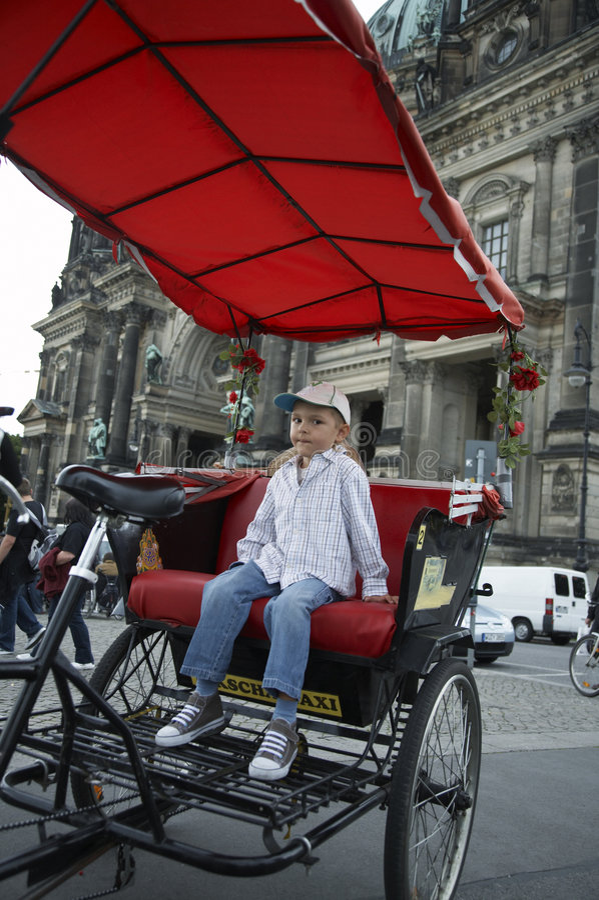 таксомотор berlin стоковое изображение rf