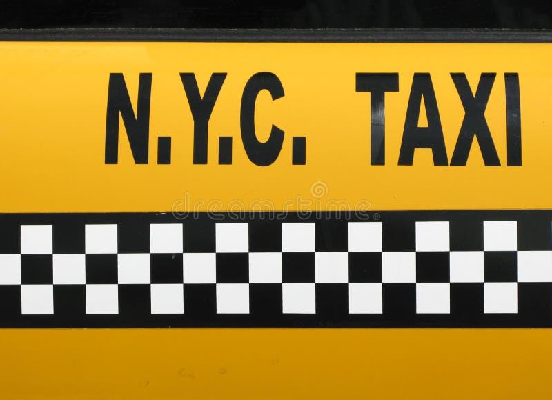 таксомотор nyc стоковая фотография