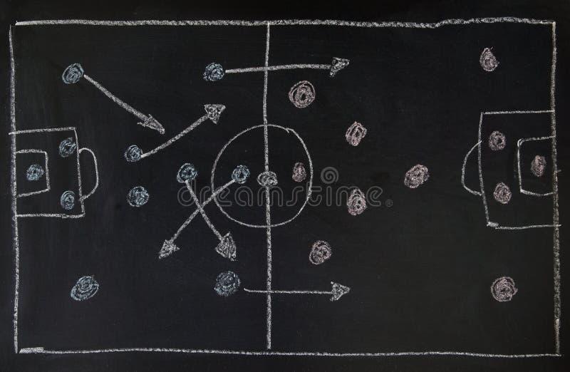 тактика футбола стоковые изображения rf