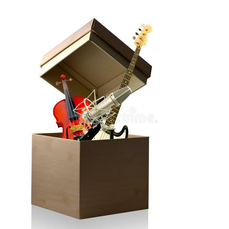 талантливость коробки открытая вверх по вашему стоковая фотография rf