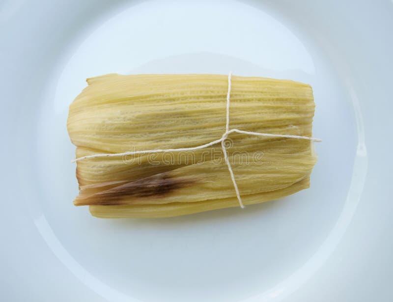 тамале американской еды латинское сладостное стоковые фото