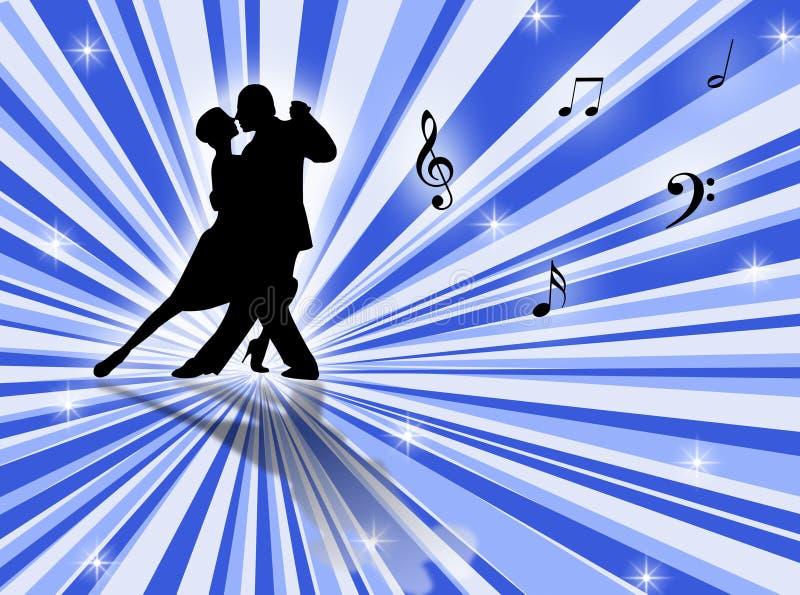 танго иллюстрация штока