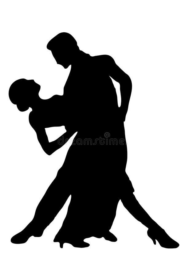 танго стоковое изображение