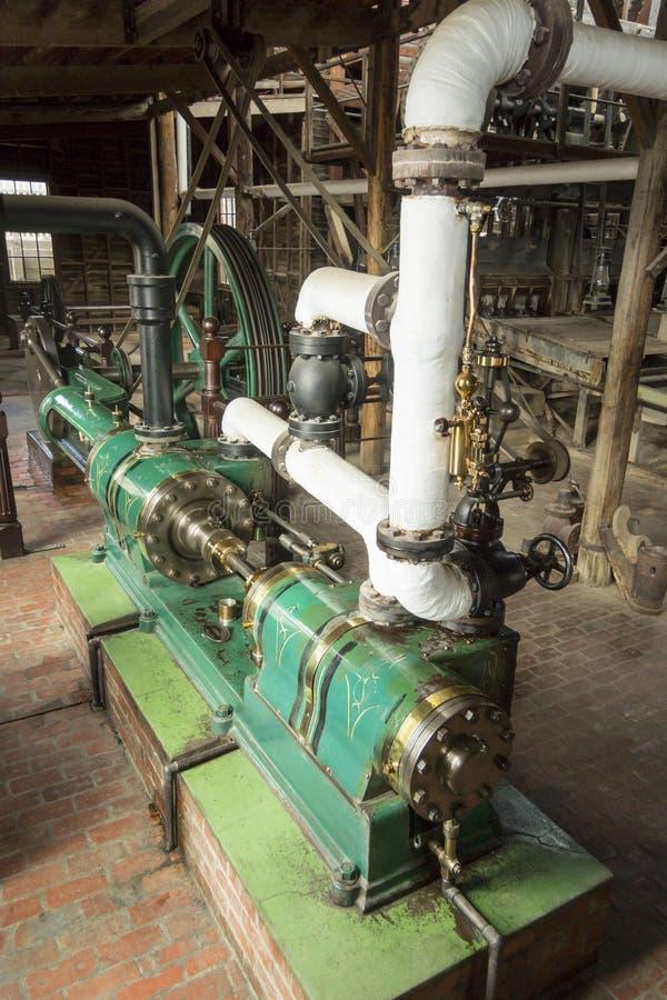 Тандемная паровая машина стоковое изображение rf