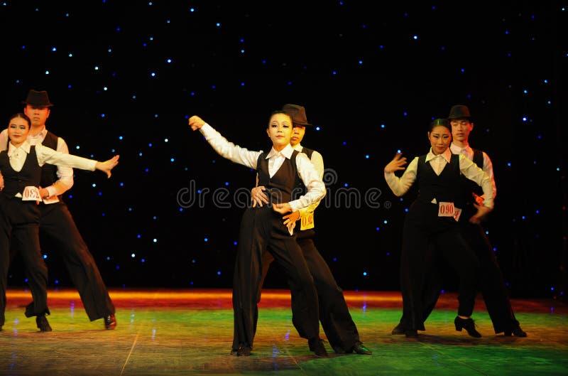 Танец кампуса танца- джаза стоковые фотографии rf