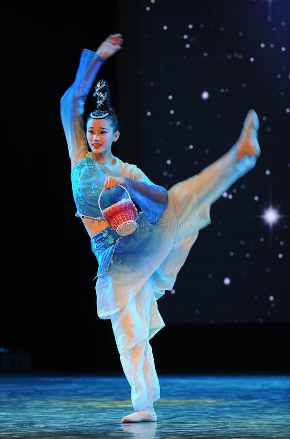 Танец корзины Пинать-бамбука песн-национальный стоковое фото rf