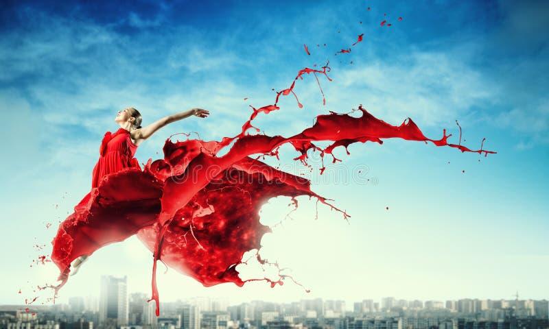 Танец с страстью стоковое изображение rf