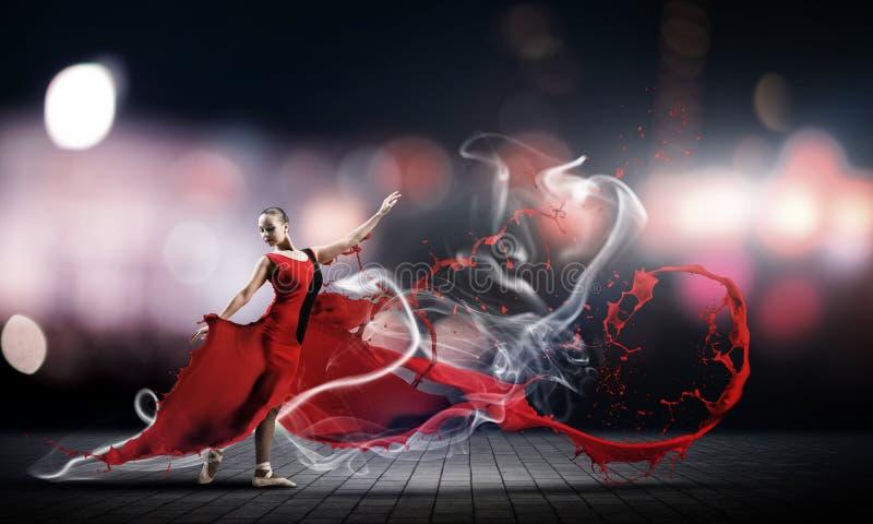Танец с страстью стоковая фотография