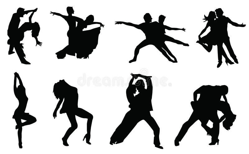 Танец бесплатная иллюстрация