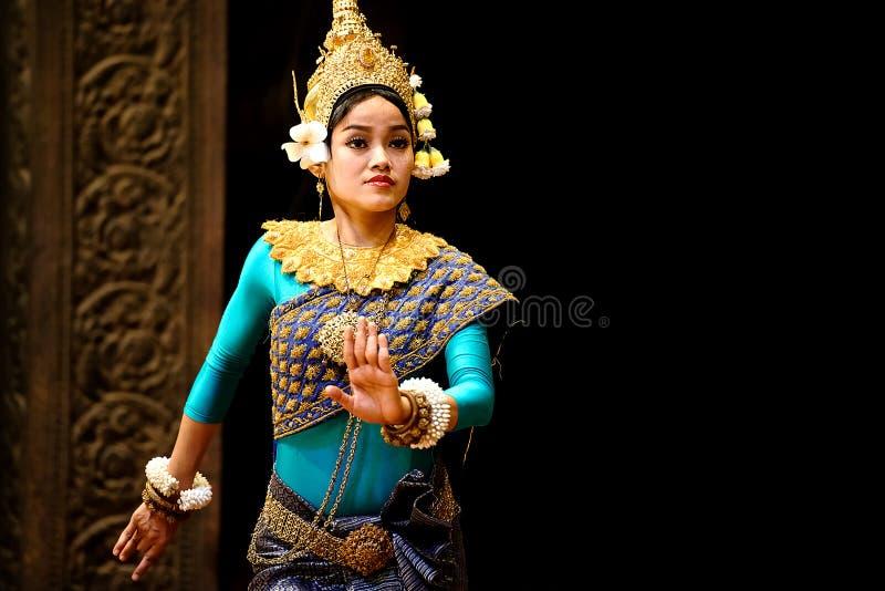 Танец Apsara стоковое фото rf