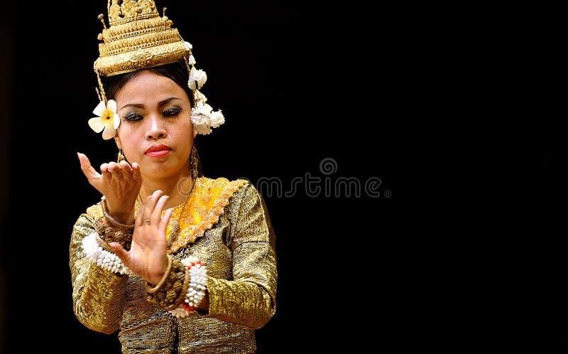 Танец Apsara стоковые фотографии rf