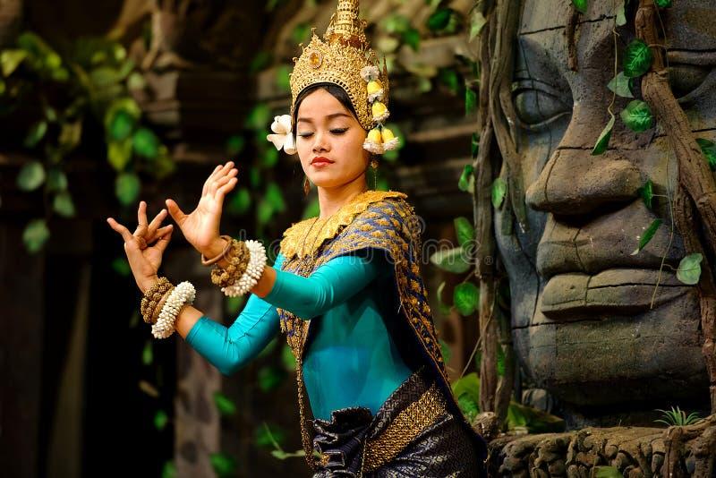 Танец Apsara стоковые фото