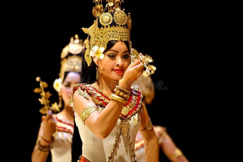 Танец Apsara стоковые изображения