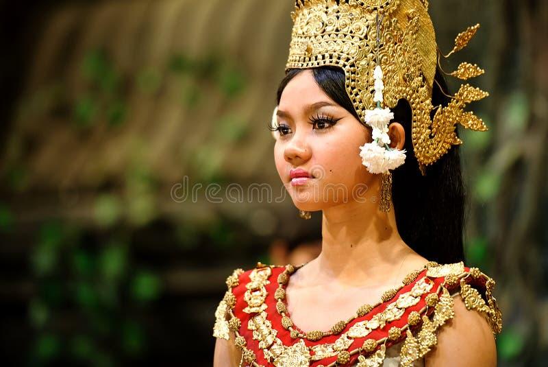 Танец Apsara стоковое фото