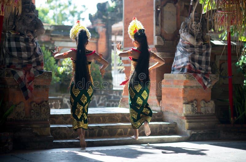 Танец Barong в Бали стоковые изображения rf