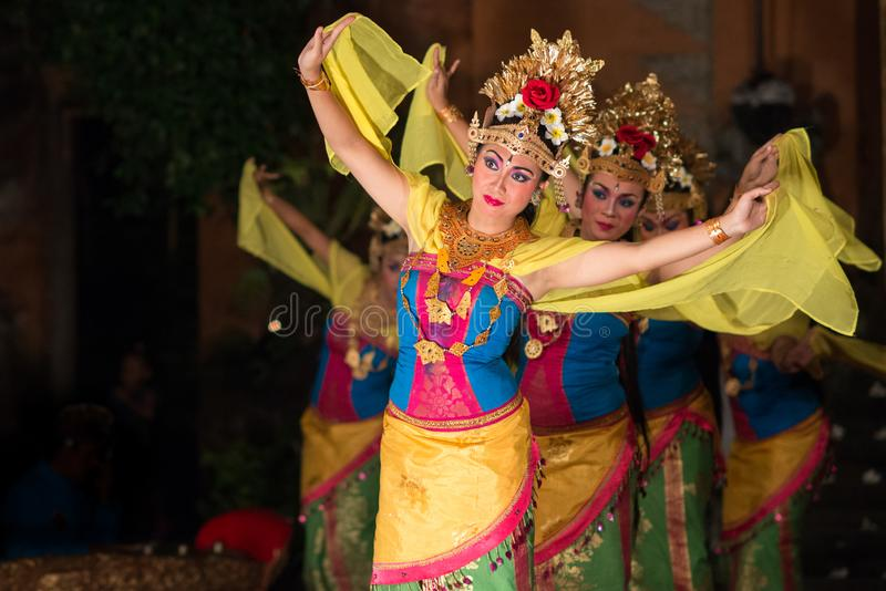 Танец Barong в Бали стоковое фото