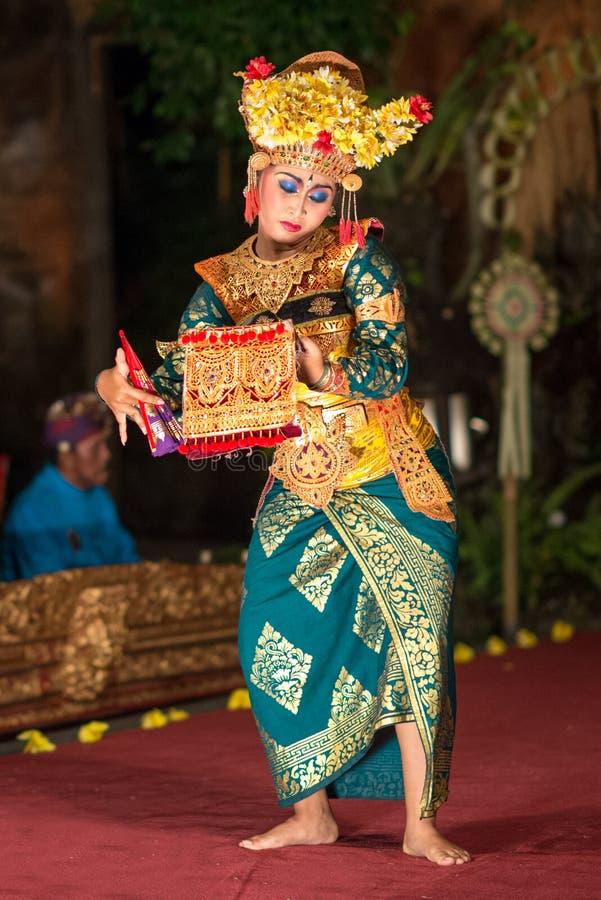 Танец Barong в Бали стоковая фотография