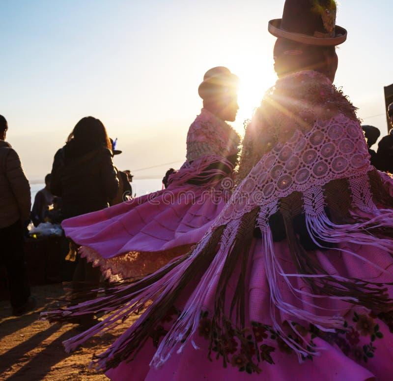 Танец Peruvian стоковая фотография