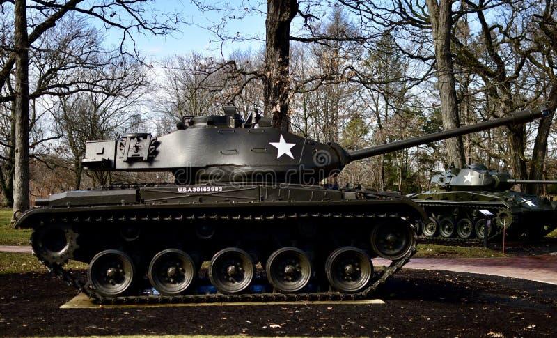 Танк бульдога ходока M41A3 стоковые изображения