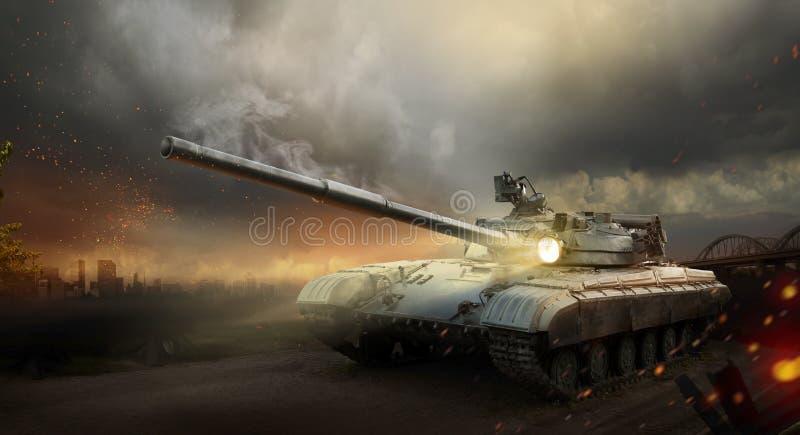 Танк толстой брони стоковое фото rf