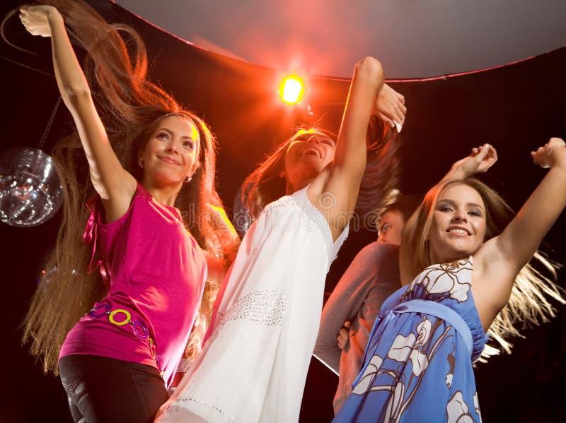 танцоры блестящие стоковое фото rf