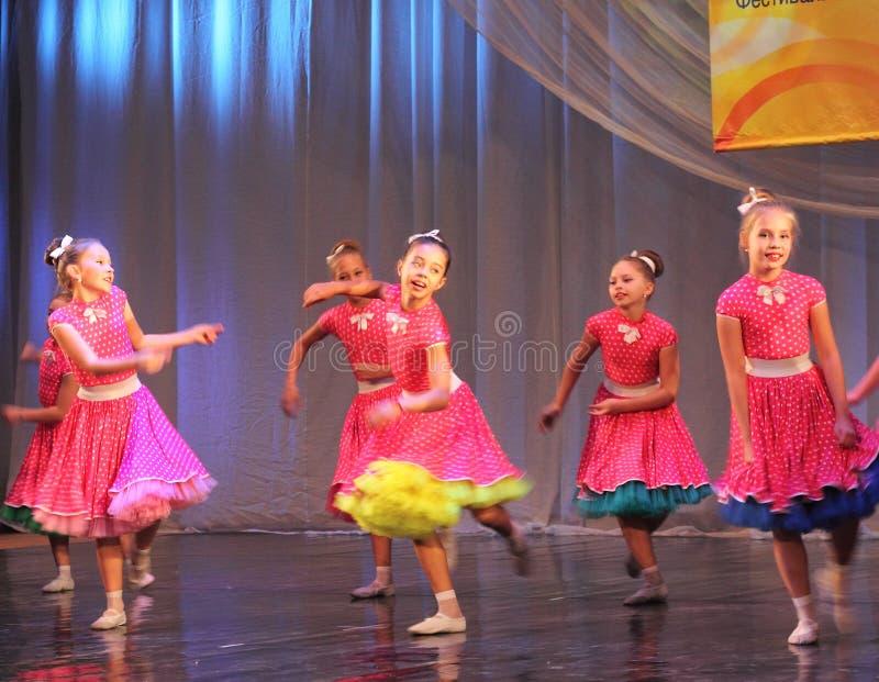 Танцоры детей стоковое фото rf