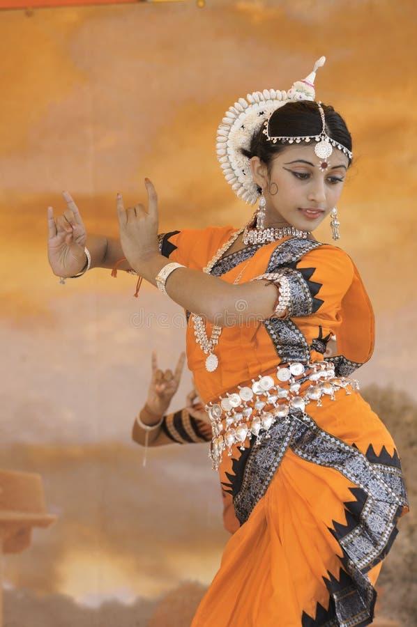 танцоры Индия стоковое фото