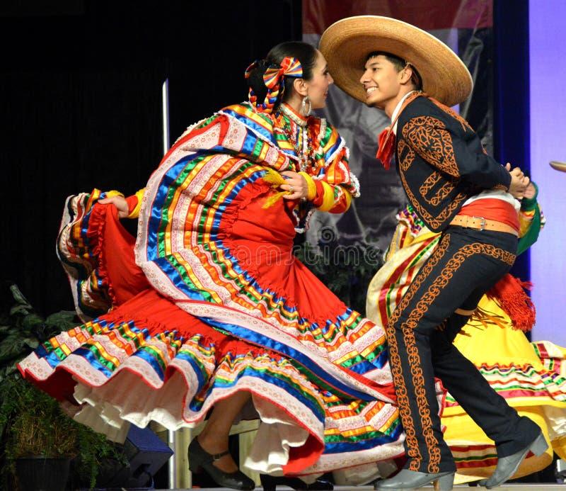 танцоры мексиканские стоковые фотографии rf