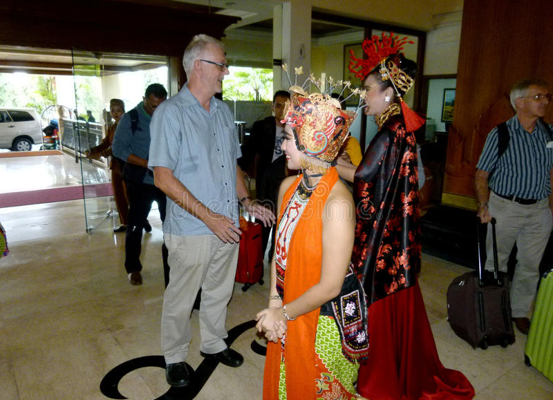 танцоры традиционные стоковое изображение