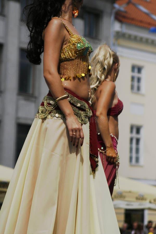 танцоры стоковая фотография