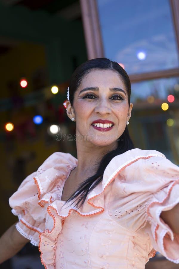 Танцоры Chacarera от Буэноса-Айрес, Аргентины стоковое фото