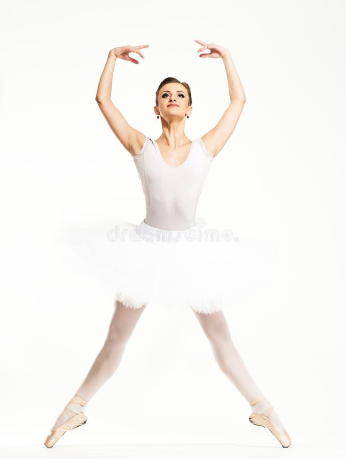 Танцор балерины в балетной пачке стоковая фотография rf
