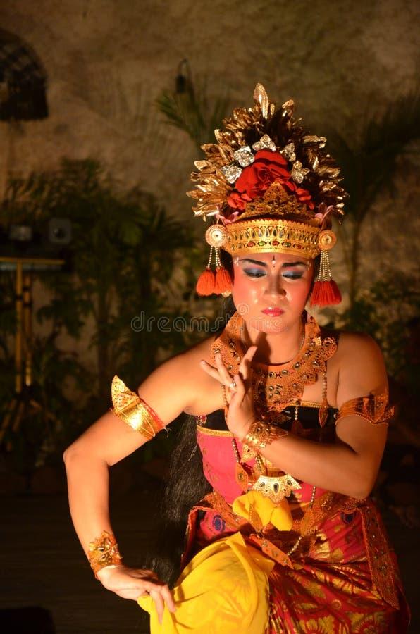 Танцор Бали стоковое фото