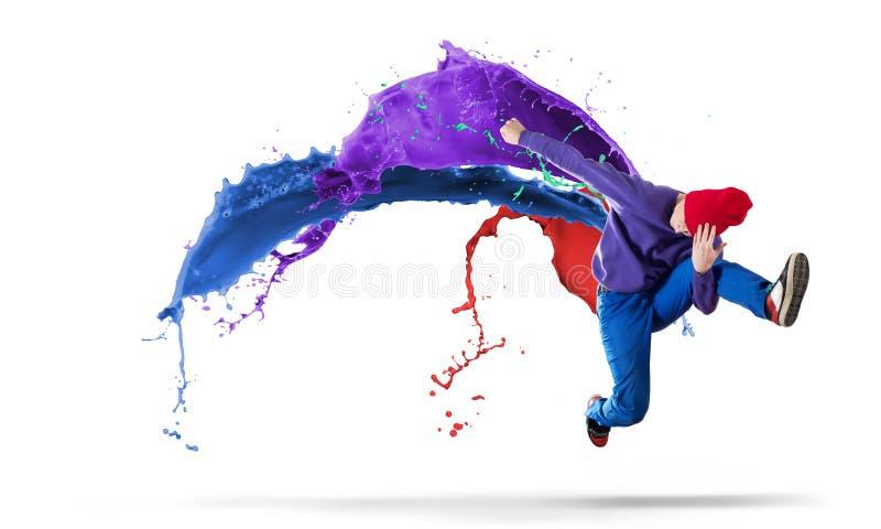 Танцор виртуозности стоковая фотография