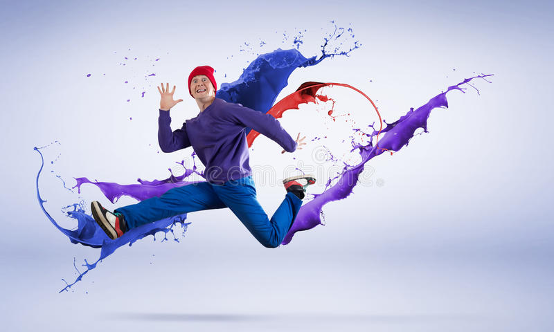 Танцор виртуозности стоковые изображения