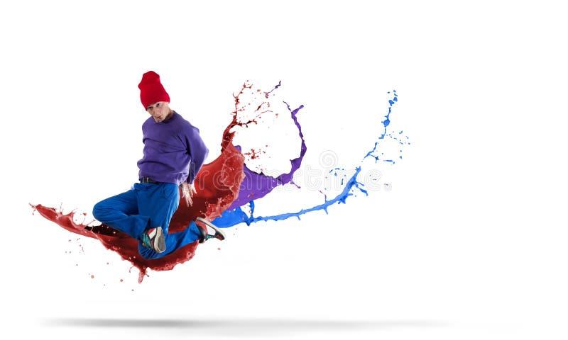 Танцор виртуозности стоковое фото rf