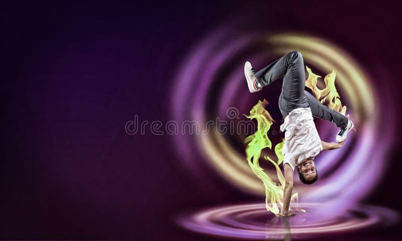 Танцор виртуозности стоковые изображения rf