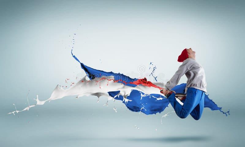 Танцор виртуозности стоковые фотографии rf