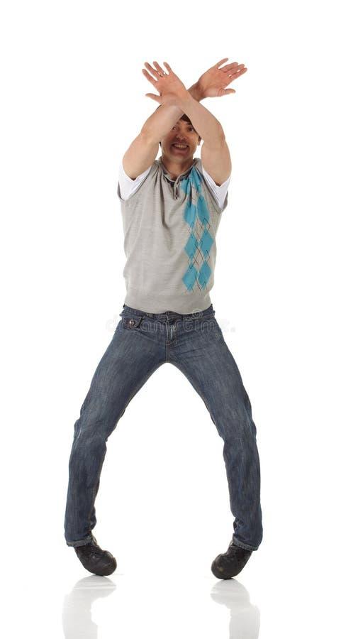 Танцор крана стоковые изображения rf