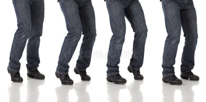 Танцор крана стоковые изображения