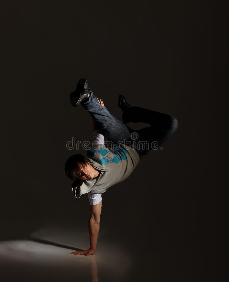 Танцор крана стоковая фотография